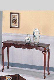 Queen Anne Cherry Sofa Table Ads4041a Sf By Click2go 139 99 Sofa
