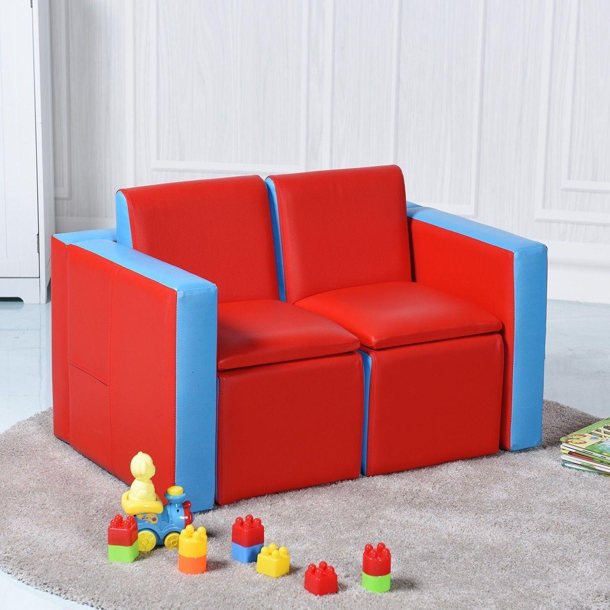 Multi Functional Kids Sofa Table Chair Set