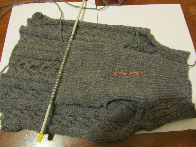 modele de pull a tricoter gratuit pour chien