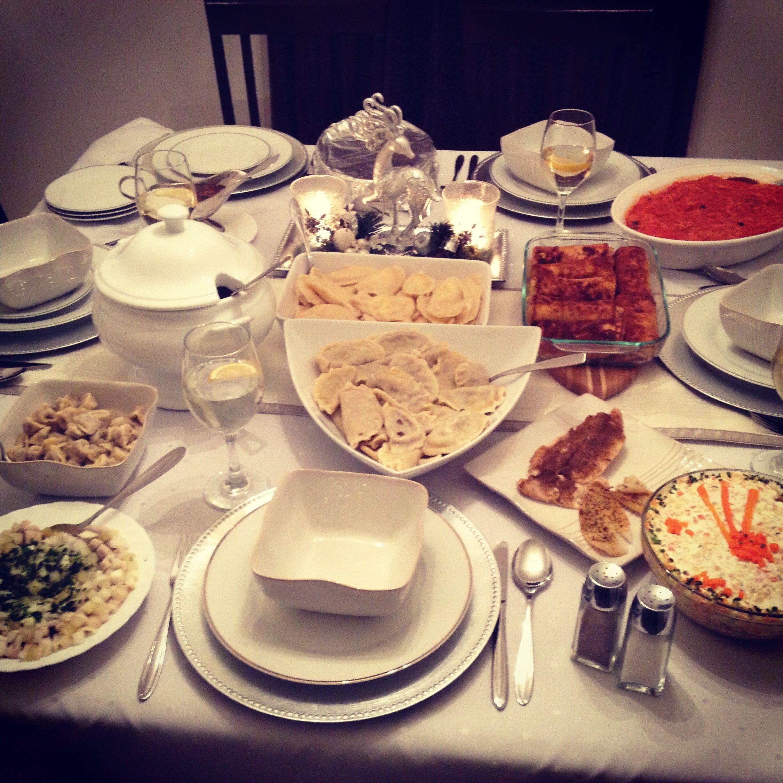 polish christmas eve dinner (With images) Christmas eve