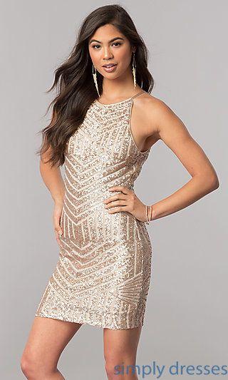 Semi Formal Party Dresses Short Cocktail Dresses Prom Dress