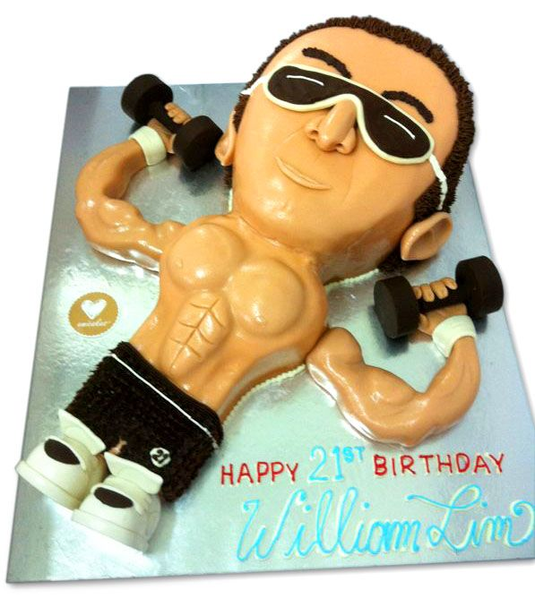 Excellent Emicakes Muscle Man Cake Beer Cake Cakes For Men Fathers Day Cake Personalised Birthday Cards Xaembasilily Jamesorg