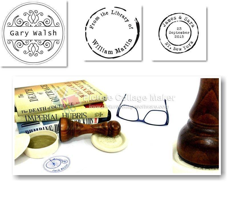 Custom Stamp, DIY Wedding Stamp, Custom Name Stamp. Handcrafted ...