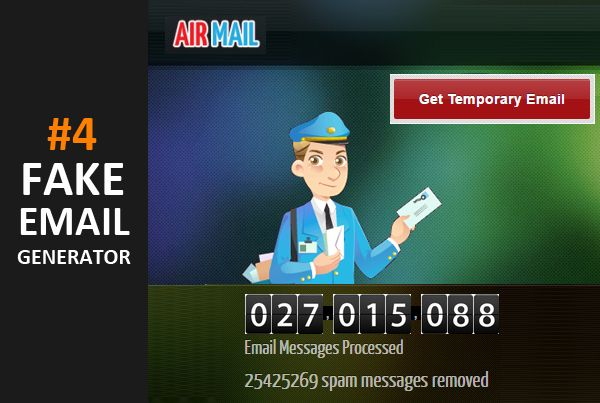 best-free-fake-email-generator-airmail | 10 Best Fake Email