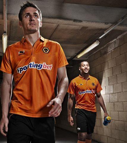 632e5a22a14 First Team Kit 2012-13 | PL - Wolverhampton FC Wolves | Mens tops ...