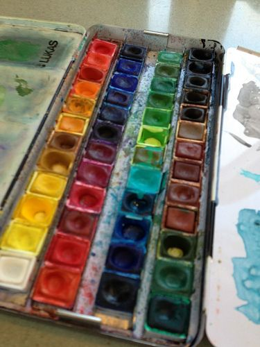 Palette The Joy Of Painting Pallet Painting Painted Boxes