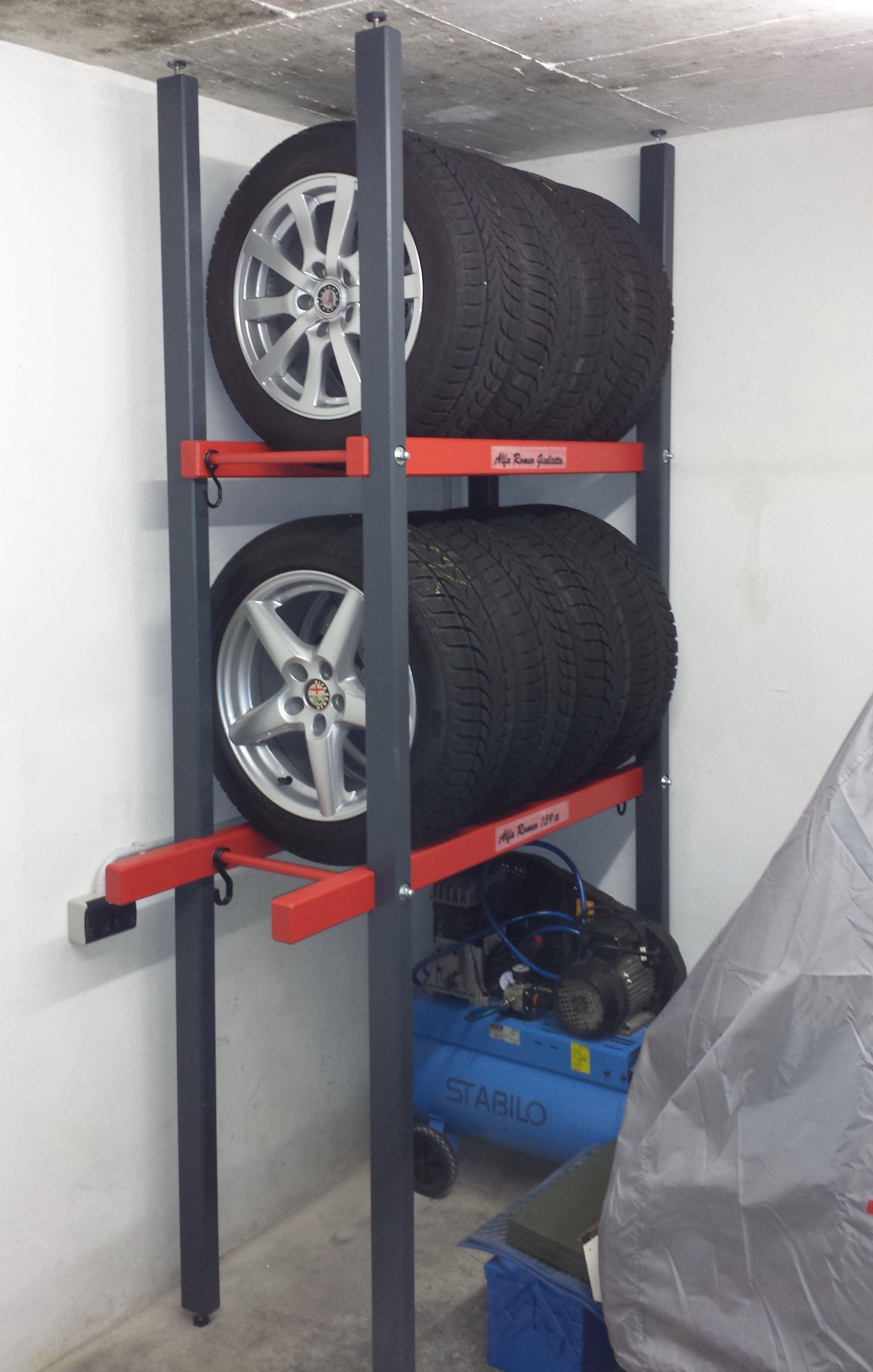 Reifenregal Platzsparende Lagerung Der Sommer Bzw