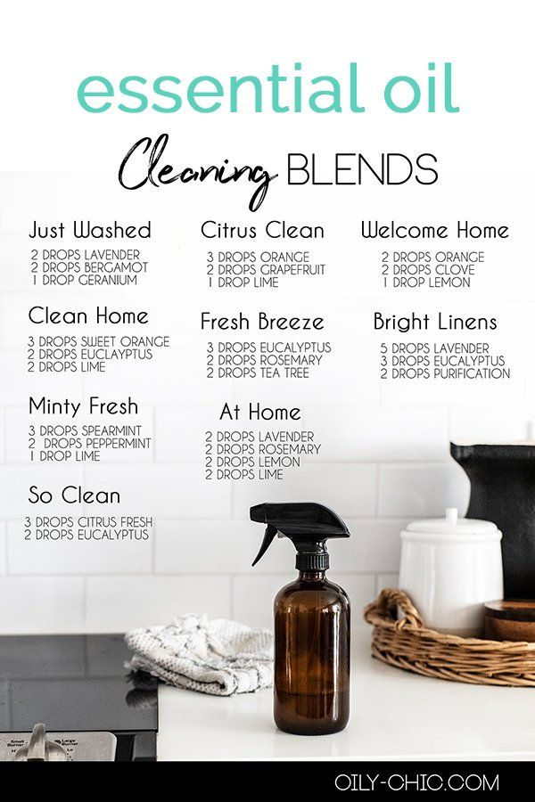 Best Essential Oils for Cleaning Recipes and Blend