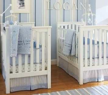 Amazon.com: Pottery Barn Kids C Is For Cars Nursery Bedding ...