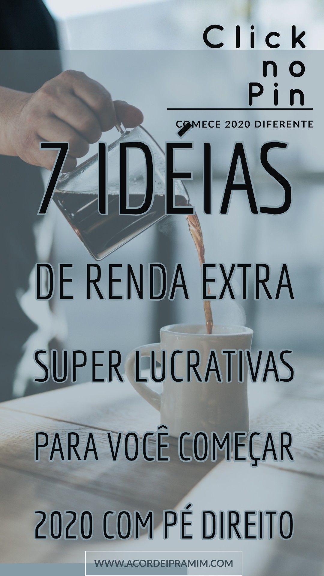 7 Excelentes Ideias de Renda Extra