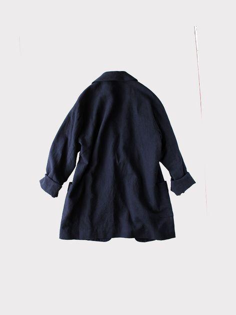 Smoking jacket~cotton linen 4