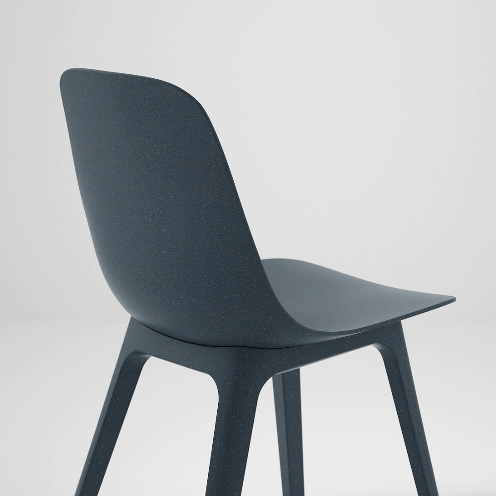 ODGER Chair, blue IKEA in 2020 Chair, Dining room