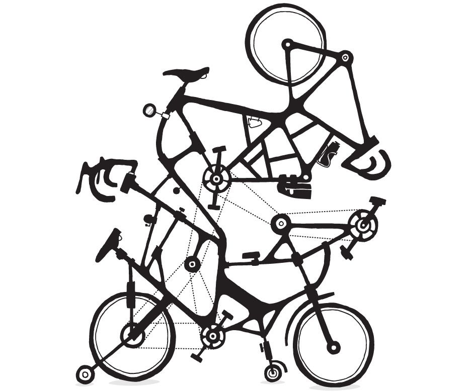 Bike Tuneup Alex Eben Meyer Illustration Velosiped