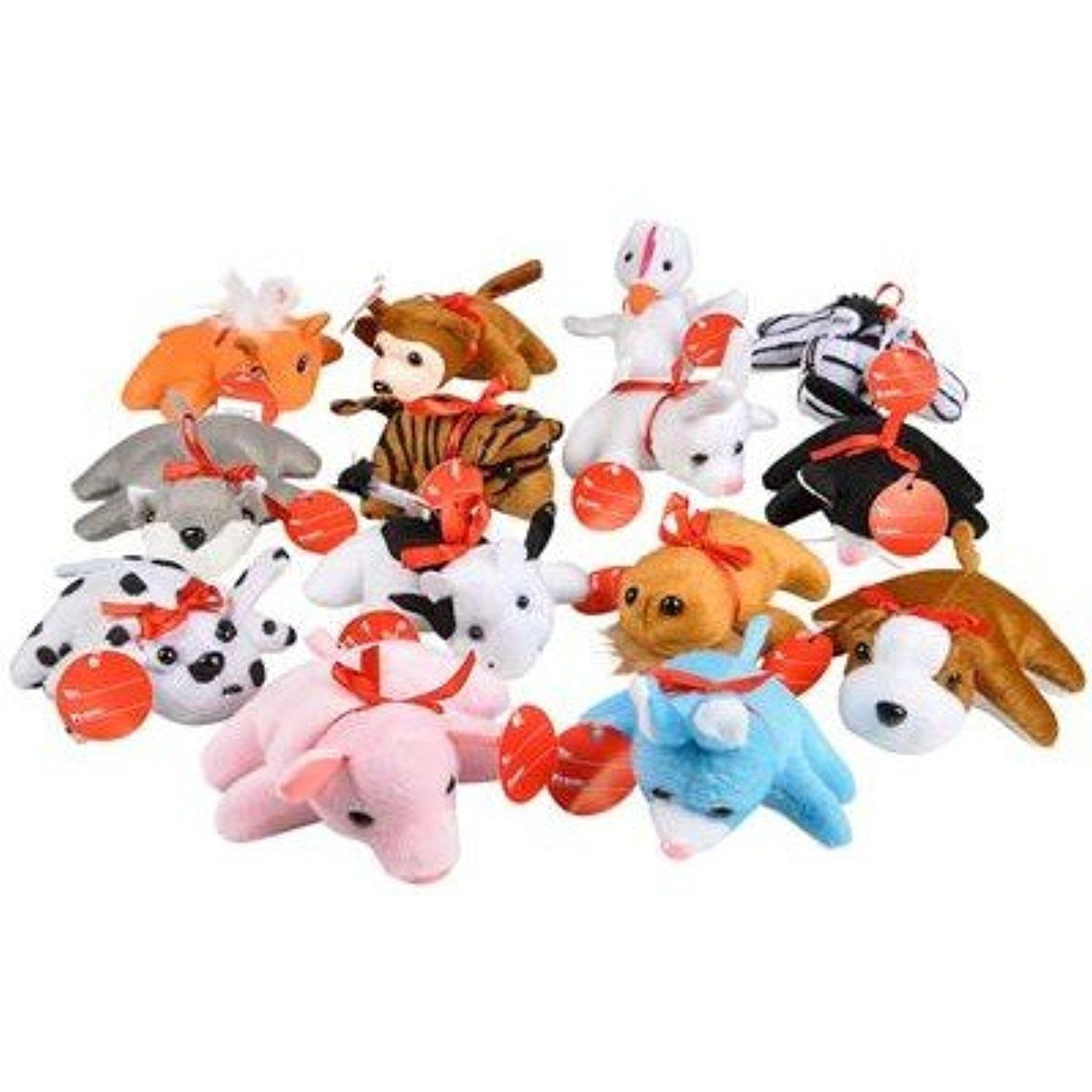 Mini Plush Bears And Stuffed Toy Animals Bulk Pack Of 50 More