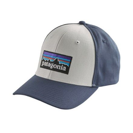 b110c230d92 Patagonia 73 Logo Roger That Hat White Dolomite Blue