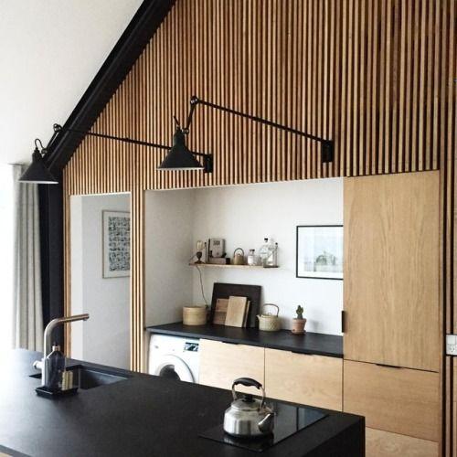 Pin von theresia schumacher auf aaa wanddeko holz for Wochenendhaus modern bauen