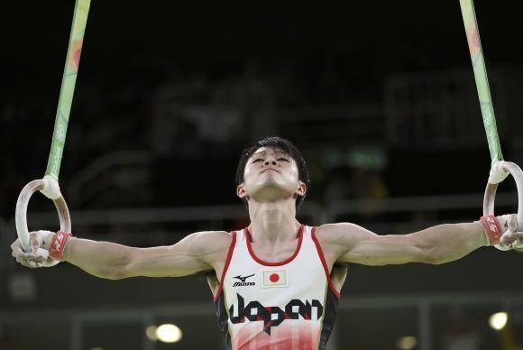 Uchimura conquista bicampeonato olímpico na ginástica