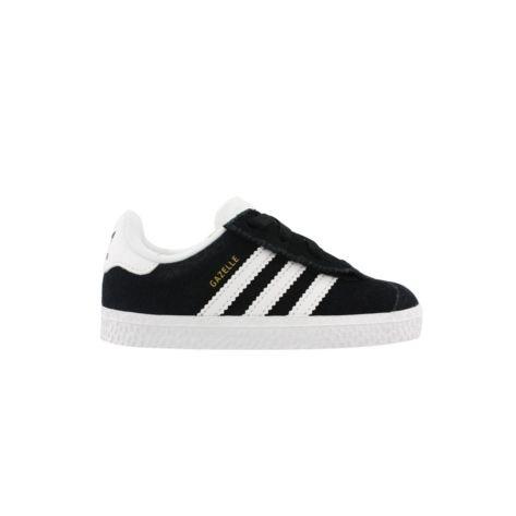 bambino adidas gazzella scarpa da ginnastica nero / bianco jude