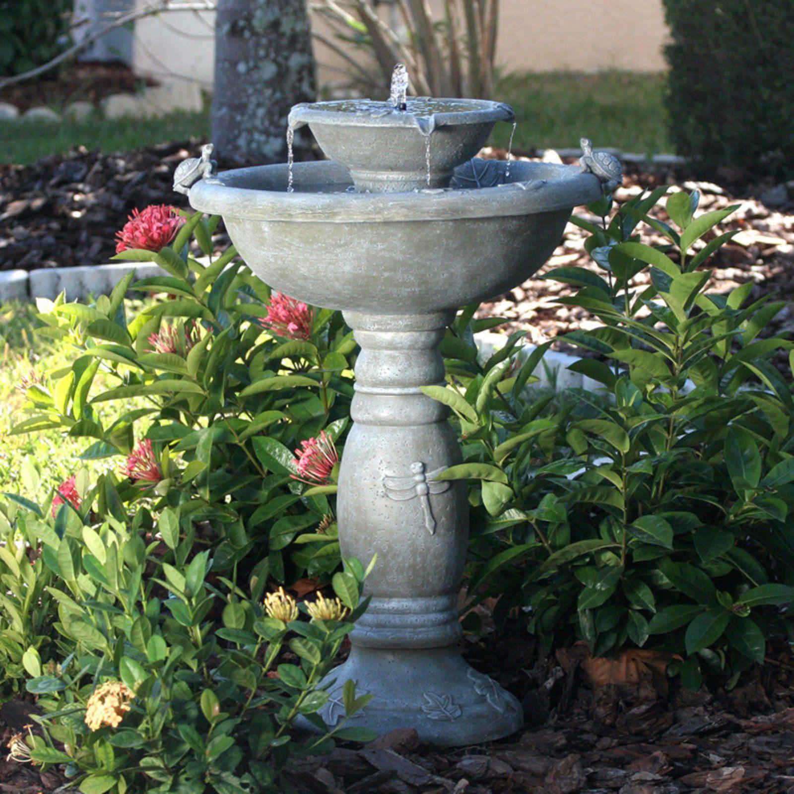 6f8eca3d573c2c09c4b41c63b6734002 - Smart Solar Gardens 2 Tier Solar On Demand Fountain