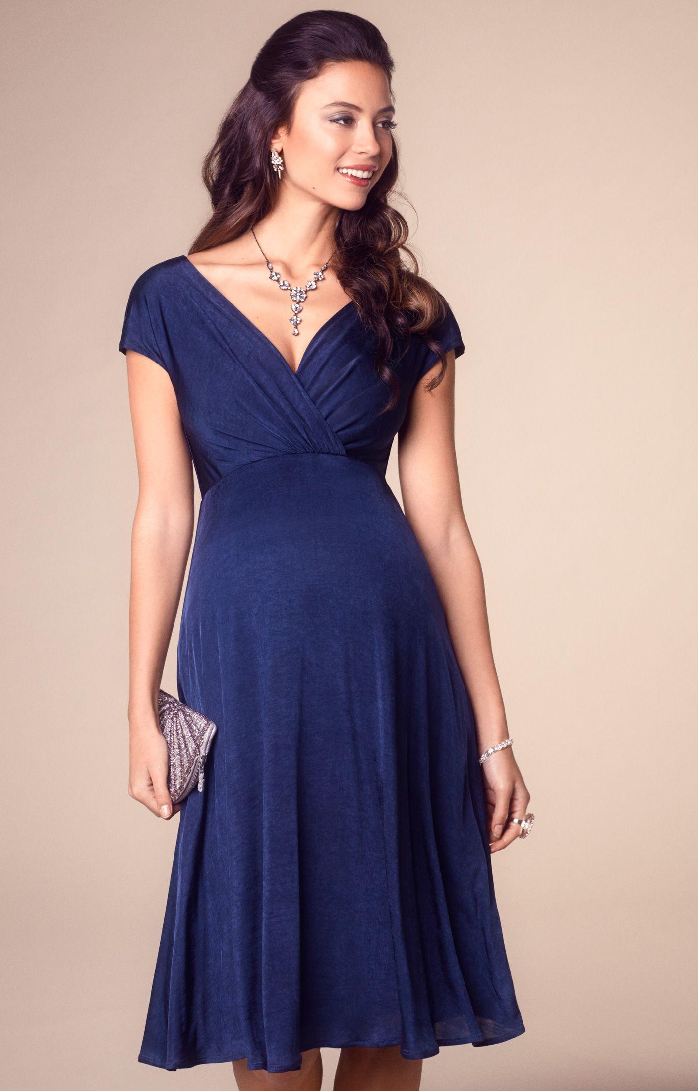 40b10cadc7e Alessandra Maternity Dress Short. Tiffany Rose ALESSANDRA DRESS SHORT NAVY  - ALESN US   205.00