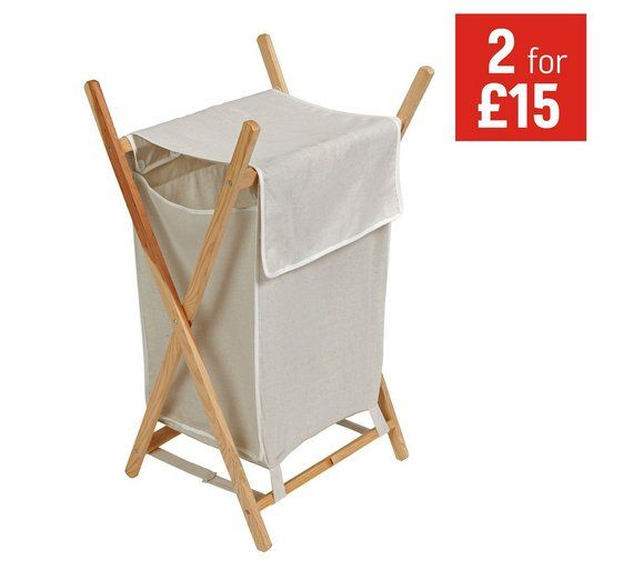 Home 40 Litre Natural Pine Laundry Basket At Argos Co Uk Visit