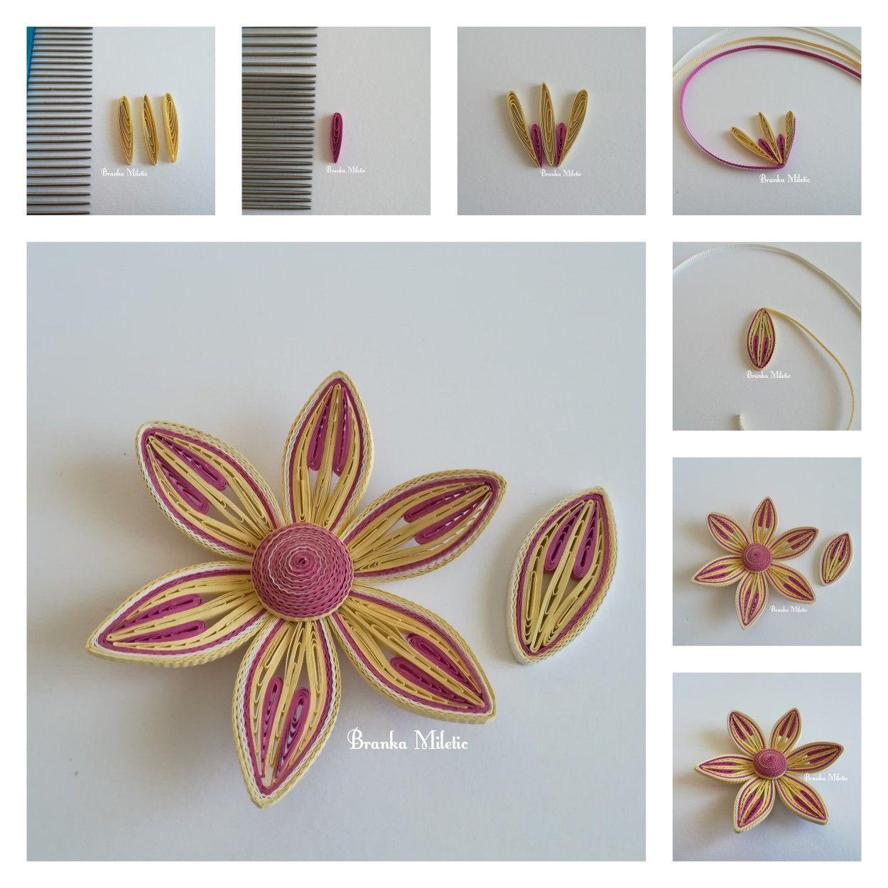 Quillingflowertutorial Flowercombtutorial Quilling Quilling Flowers Tutorial Quilling Techniques Paper Quilling Jewelry