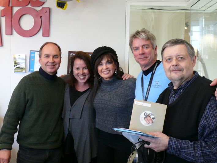 Marie Osmond Visits  WCBS-FM 101.1 - 2010