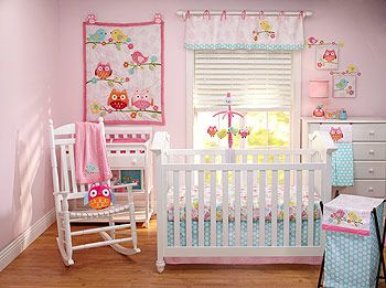 Awesome Owl Baby Crib Sets