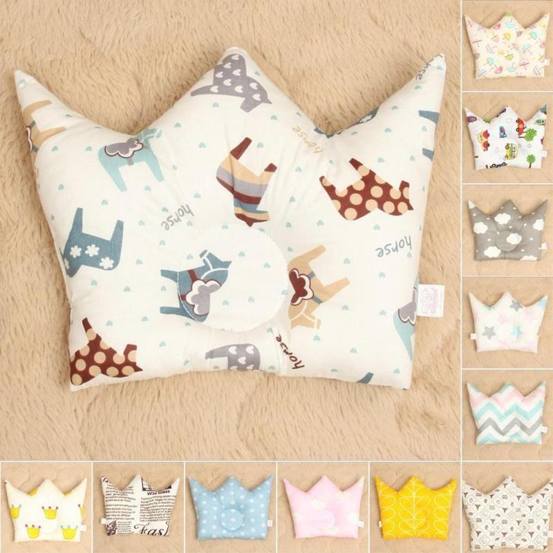 Baby Pillow Prevent Flat Head Newborn Headrest Sleep Bedding Decor