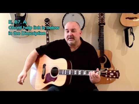 How to Play Blue Eyes Crying In the Rain - Willie Nelson (cover ...