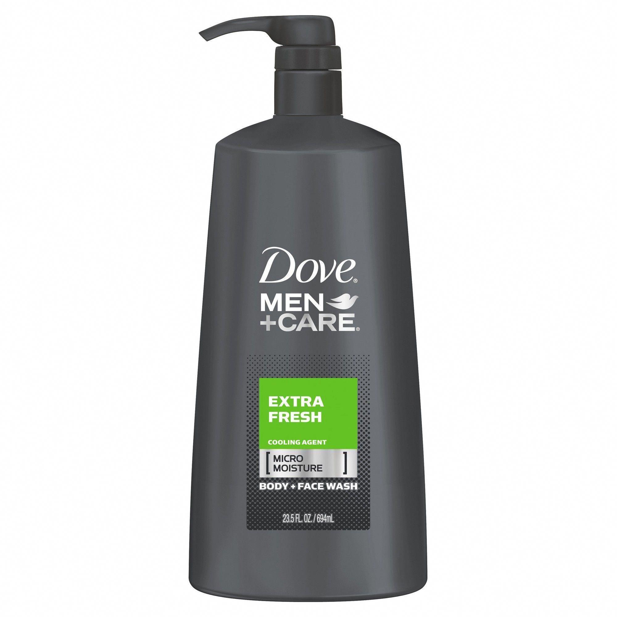Dove Men+Care Extra Fresh Micro Moisture Cooling Body Wash