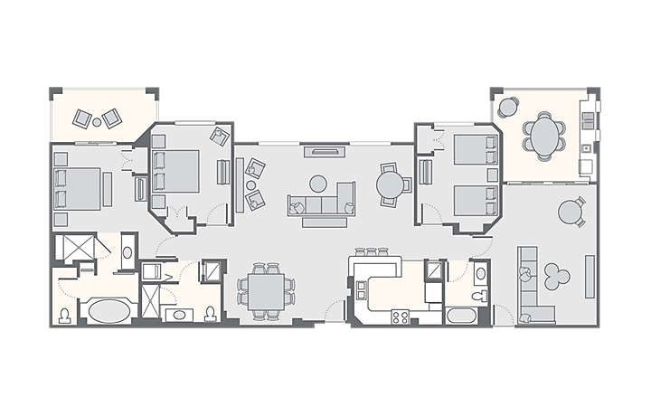 What You Ll Love About The Fountains Resort Fountain Resort Fountains Floor Plans