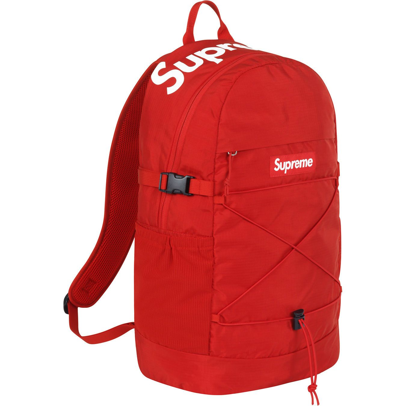 Supreme® 210 Denier Cordura® Red Backpack Ss16 W/ Supreme Sticker + Bag | Backpack Design ...