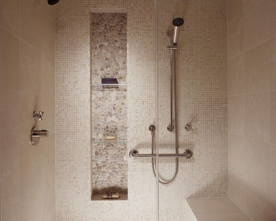 Recessed Shampoo Niche Design Pictures Remodel Decor And