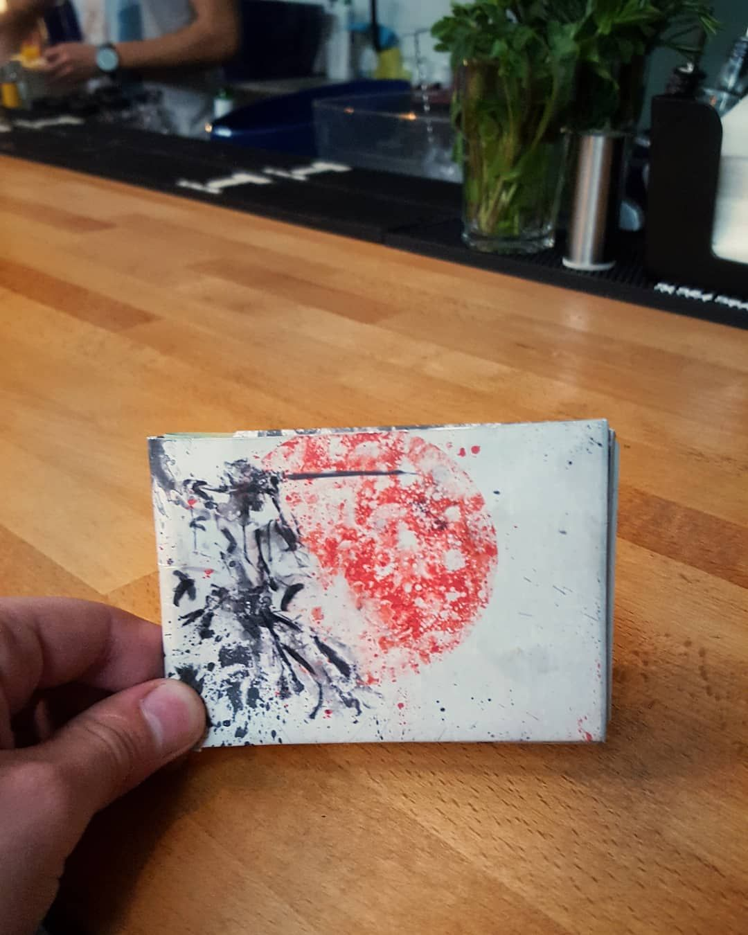 Paper Wallet Art Design Valentine S Day Gift For Him Slim Wallet