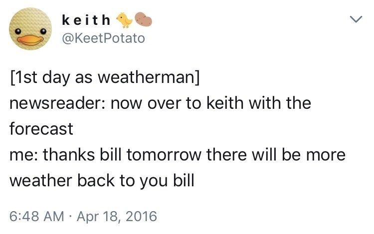 31 Times KeetPotato Was A Comedy Mastermind On Twitter