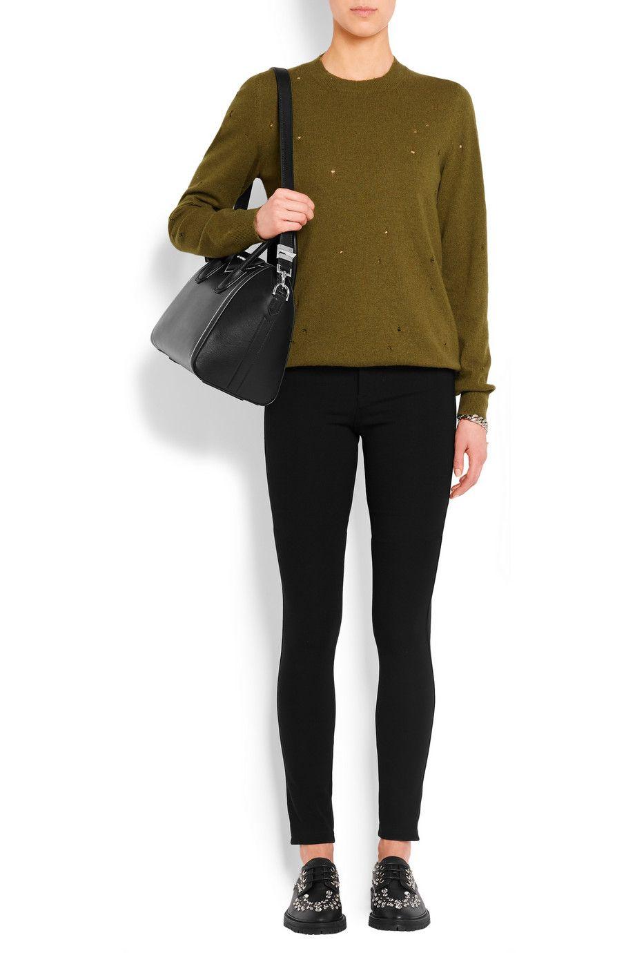 Givenchy | Sac Antigona petit modèle en cuir noir | NET-A-PORTER.COM