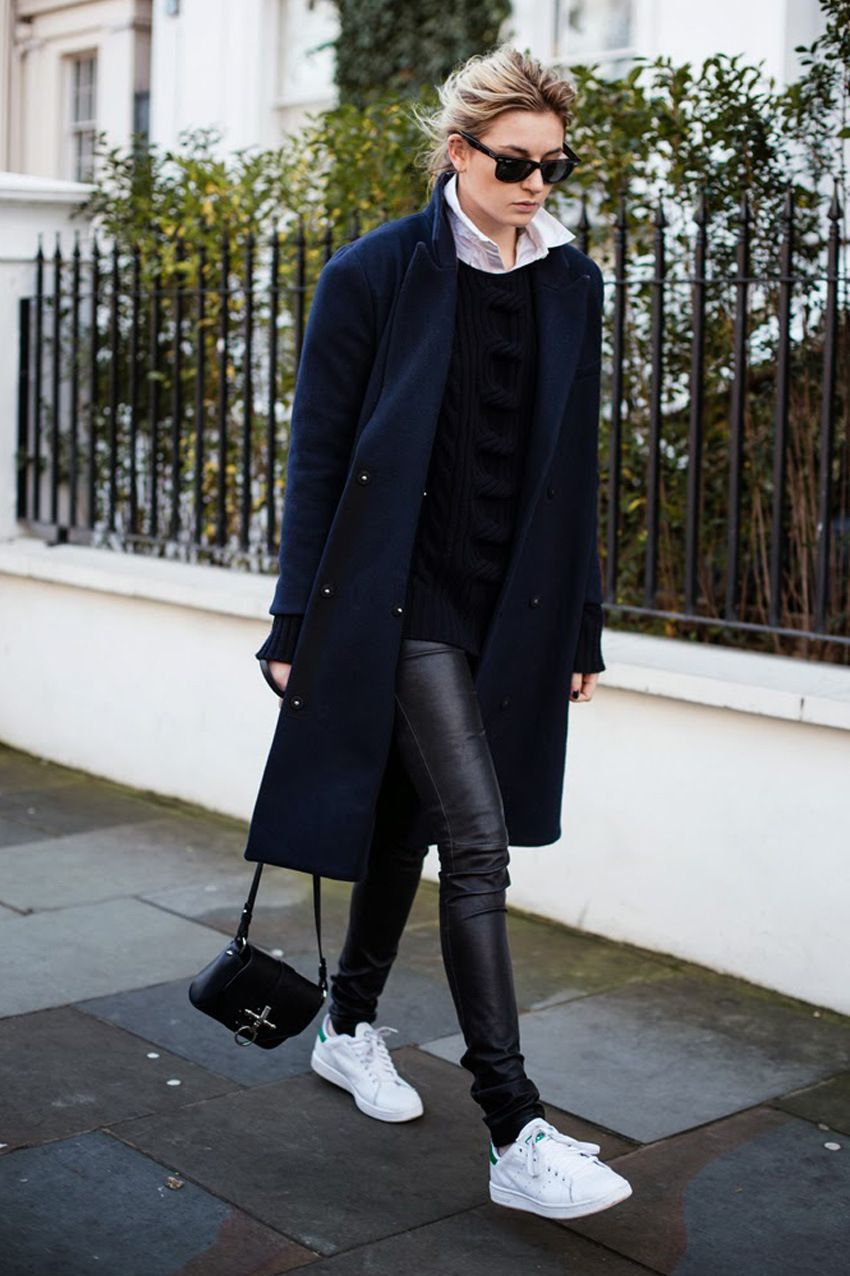 Trend Report: Minimal Looks with Sneakers