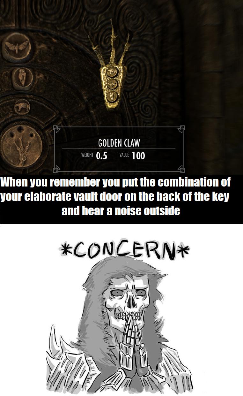 6f8f823101e3f8d2d79a730c8c0fd0fc - How To Get Past The Golden Claw Door In Skyrim