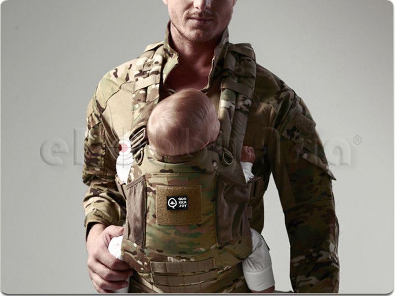 Quokkajoy Quopro Tactical Baby Carrier Limited Multicam Mission