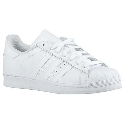 adidas superstar grey and white leather