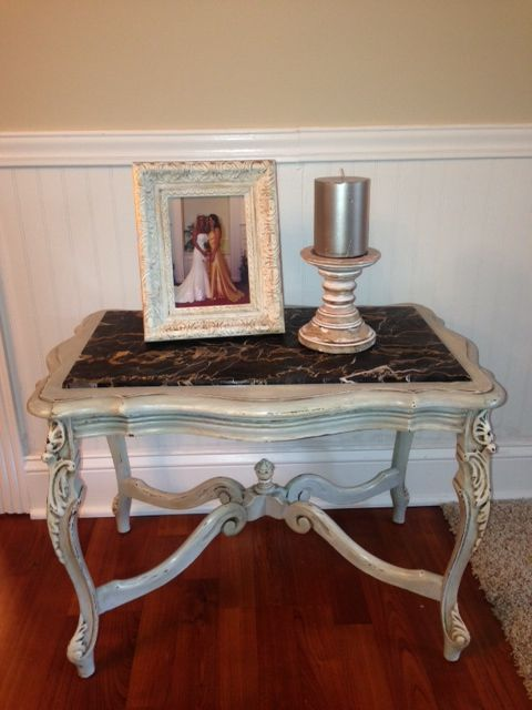 how to clean dirty marble table top