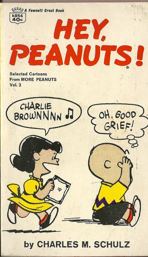 1967 Charles Schulz Hey Peanuts Lucy Linus by TheIDconnection, $15.00 one of my favorite books as a child!
