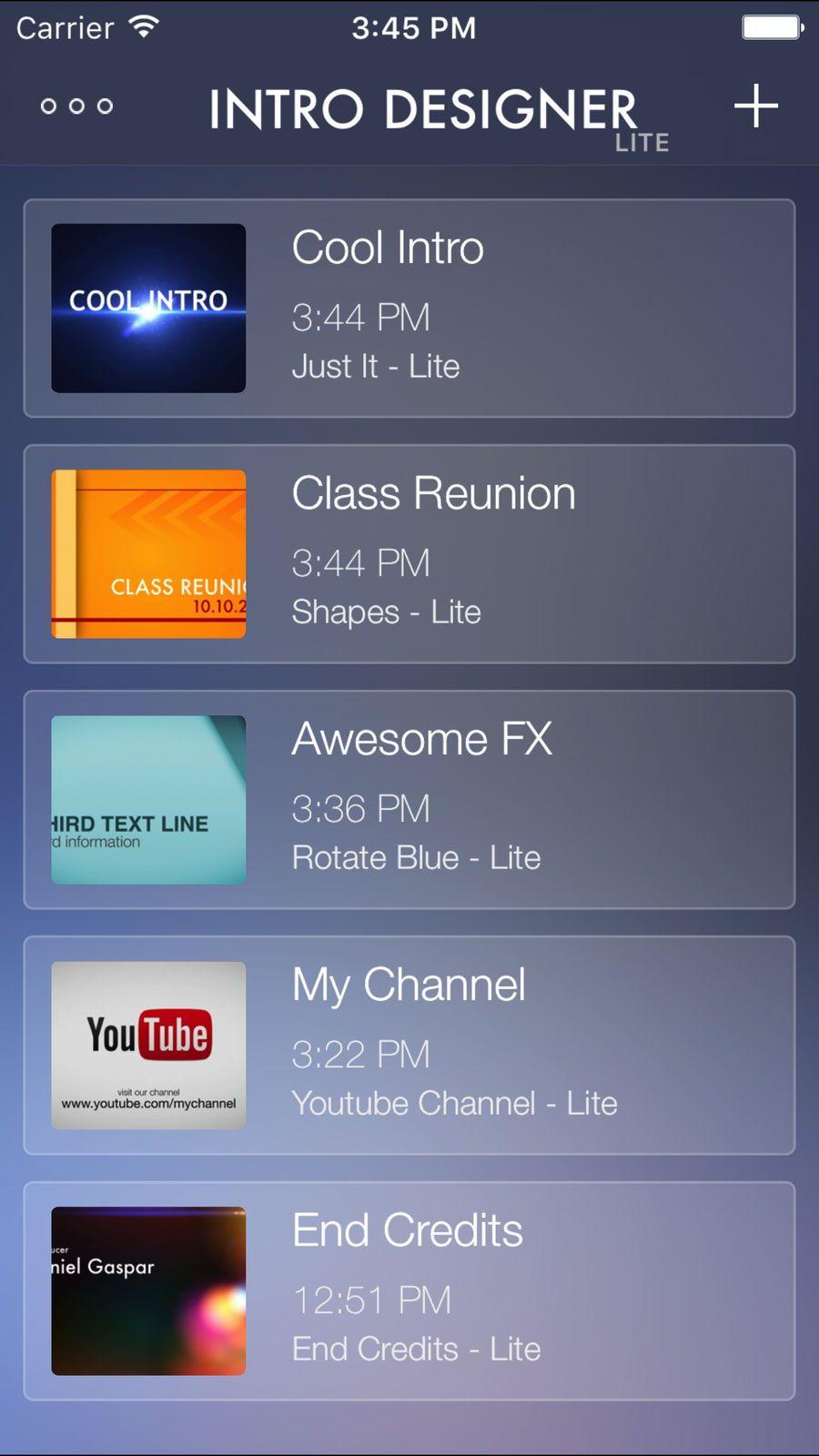 Intro Designer Lite Create Intros For Imovie Mobile