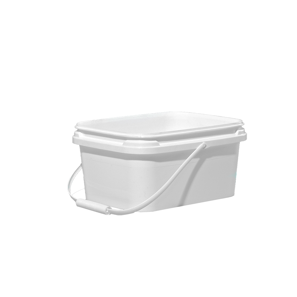 Illing Part 3e015 1 Gallon White Hdpe Ez Stor Pail Ez Stor Containers Are Available In An Assortment Of Sizes Colors And Cover Co Pail Gallon Pail Bucket