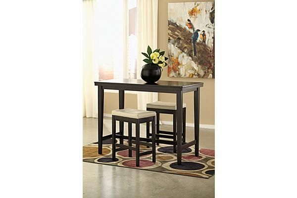 The Kimonte Counter Height Dining Room Table From Ashley Furniture