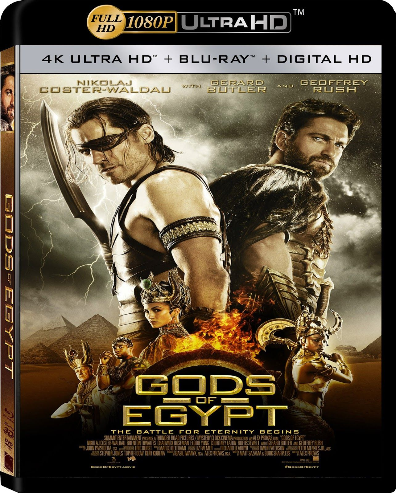 Gods Of Egypt (2016) Hindi Dubbed 1080p HEVC BluRay