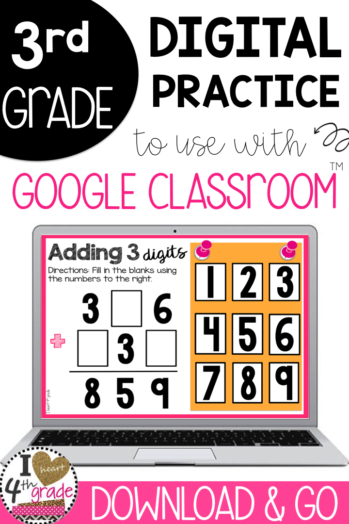 Adding And Subtracting Within 1000 Bundle For Google Classroom My