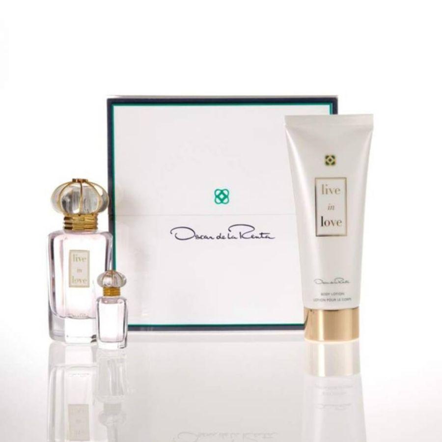 Debenhams Oscar De La Renta Live In Love 50ml Eau De Parfum Gift Set ...