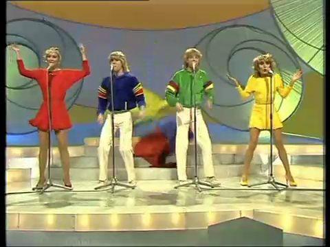Bucks Fizz Eurovision New POSTER Hats